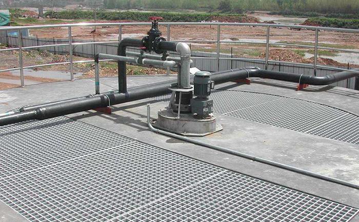 平台钢格栅板工程案例