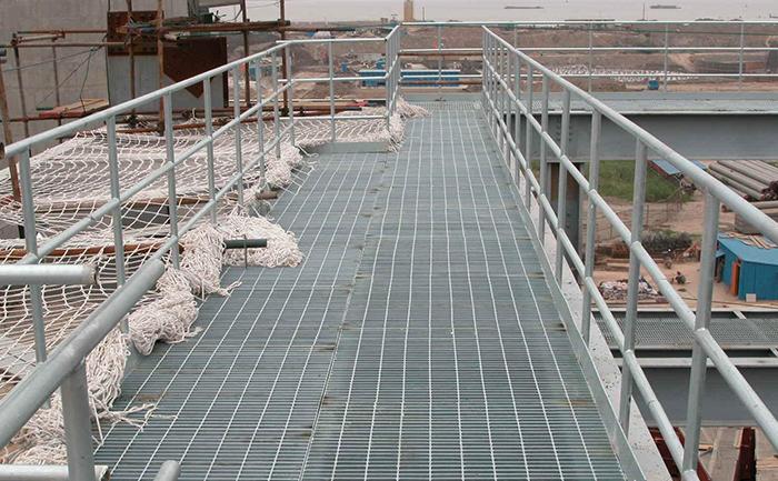 平台钢格板工程案例